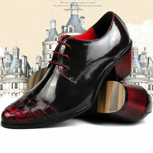 Dark Maroon Shoes | Modern Vintage Black Burgundy High Heel ...