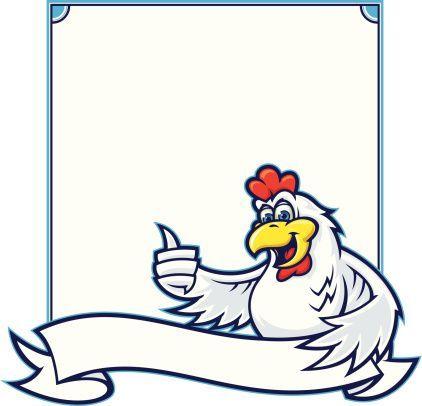 Chicken Sign Iii Martinsgansbacken Chicken Sign Iii Objek Gambar Animasi Ayam