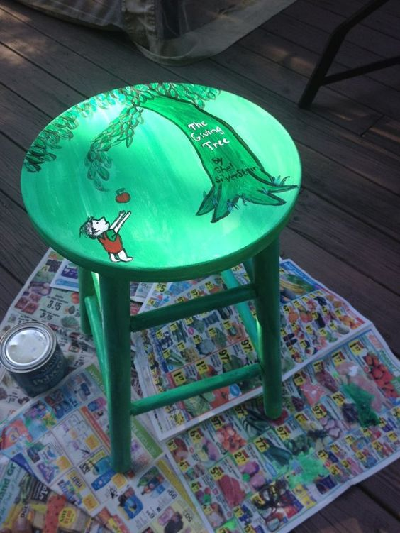 Classroom Painting Ideas ~ Diy ideas for decorating your classroom furniture