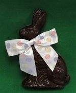 Amanda's Own Chocolate Sitting Easter Bunny