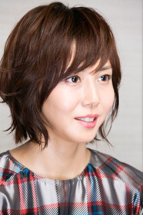 40代女性にオススメなヘアスタイル 岡崎市の美容院aurum 金田昭徳