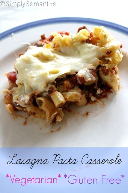 Gluten Free Lasagna Casserole *Freezer Friendly*