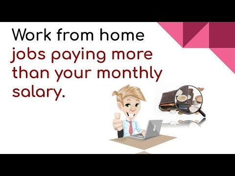 Best Work From Home Part Time Jobs Freelance Amazon Jobs Paying More Tha Amazon Jobs Freelancing Jobs Work From Home Jobs