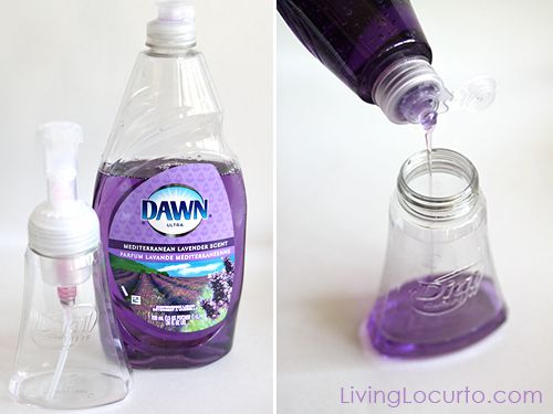 diy+foaming+hand+soap+refill | How to Make DIY Foaming Hand Soap | Living Locurto - Free Party ...
