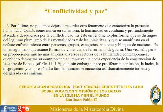 Misioneros de la Misericordia Divina: REFLEXIÓN