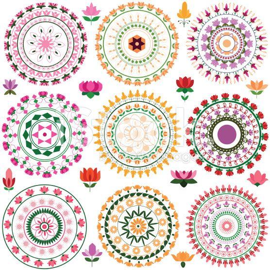 Mandala Lotus Designs Lotus Mandala Design Royalty