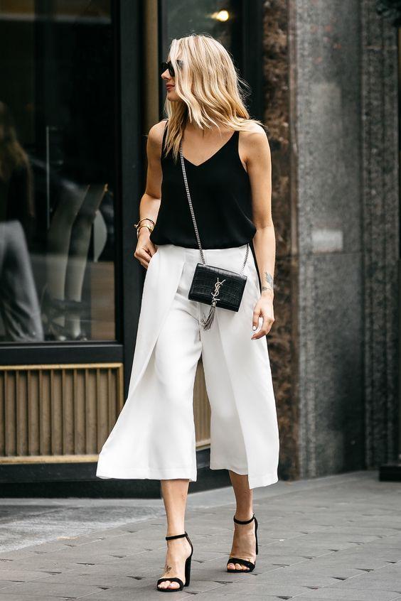 10 formas de usar pantalones pescadores sin verte más grande - Mujer de 10