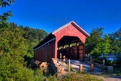 10 remaining covered bridges in Somerset County