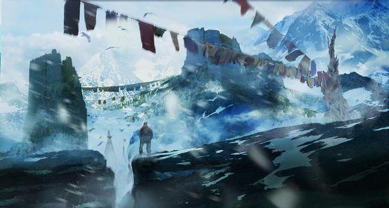 ArtStation - Tibet, Johann Blais