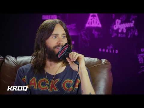 Jared Leto Discusses New Thirty Seconds To Mars Album With Nicole