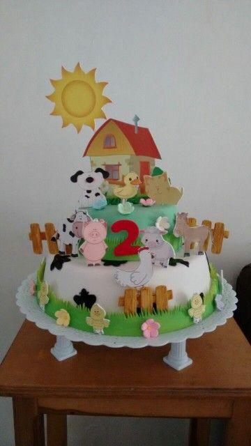 Torta temática la granja / farm cake