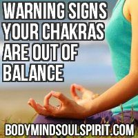 Warning Signs That Your Chakras Are Out Of Balance