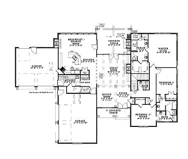 LOVE this house plan 3900 sq ft All bedrooms on one floor Small