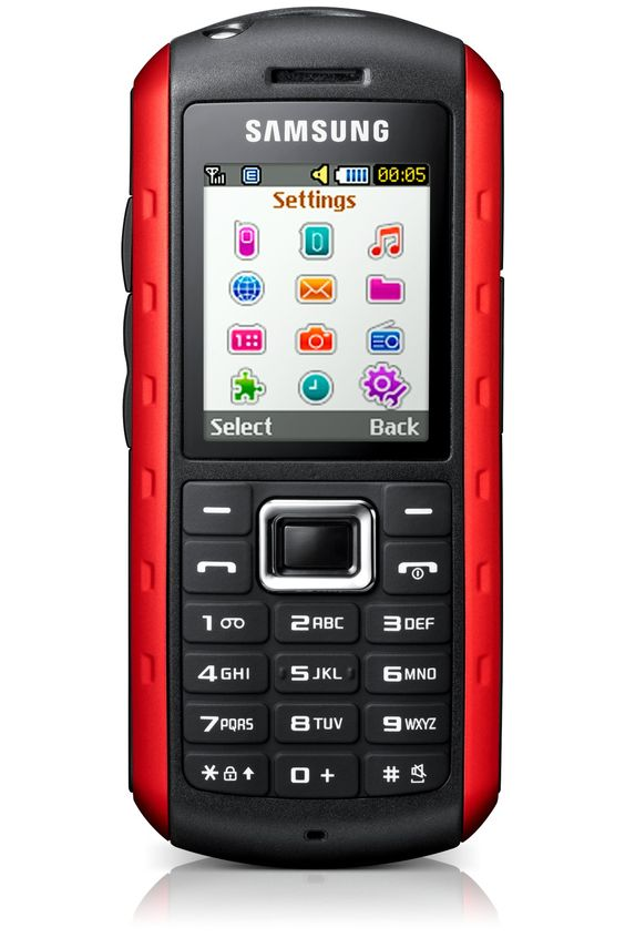 Samsung GT-B2100 Outdoor Handy scarlet-red: Amazon.de: Elektronik