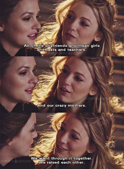 Serena & Blair best friends forever | Gossip Girl ...