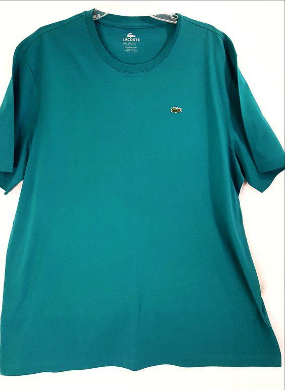 Turquoise Short Sleeve Crew T-Shirt