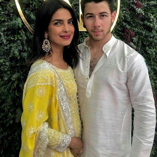 Nick Jonas And Priyanka Chopra S Engagement Priyanka Chopra Wedding Bollywood Wedding Bridal Looks