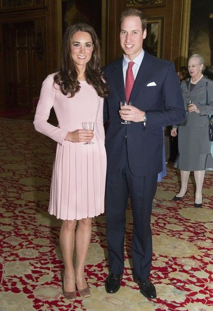 Duchess Kate  and william attended the Queen's Sovereigns' Luncheon at royal residence Windsor Castle