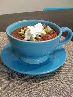 Maker's Diet Mom: Monday's Menu Part 2: Yummy Slow Cooker Chili