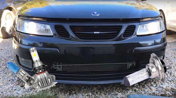 How To Upgrade Those Older Saab Headlights Saab Saab 9 3 Headlights