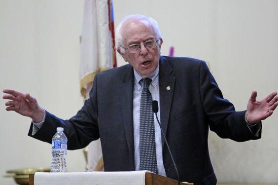 Bernie Sanders on America's 'grotesquely unfair' society