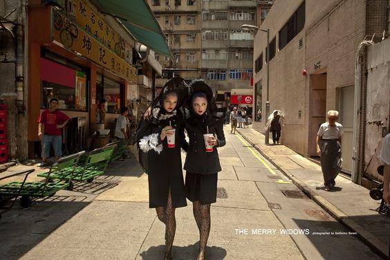 THE MERRY WIDOWS - South China Morning Post | photographer - Baldovino Barani
