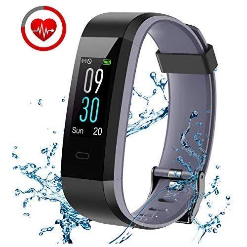 Chereeki Fitness Armband Fitness Tracker Mit Pulsmesser Ip68 Wasserdicht 14 Trainingsmodi Schlaf Tracking Alarm Modus Sitzende Erinnerung Sms Push