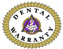 Same Day Dental offers the dental warranty!  Your treatment is automatically warranted for 12 months.  Choose to add additional coverage and your treatment is warranted against failure, breakage or repair.
