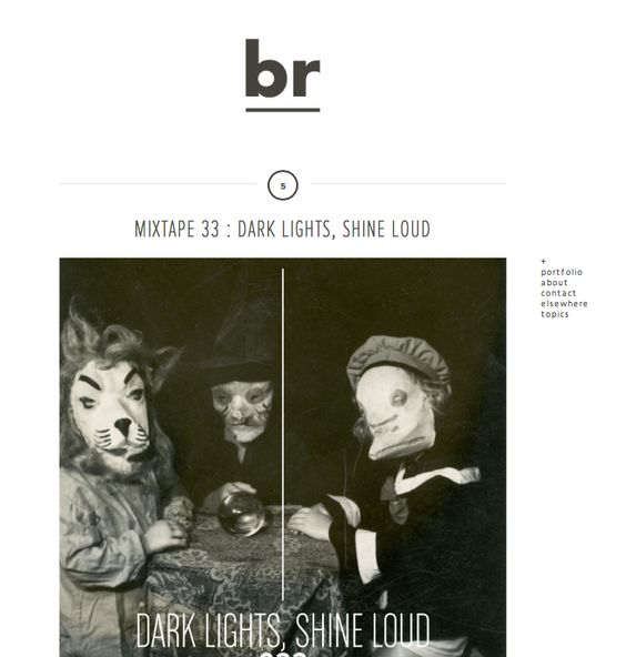 i want the blog page to look like this