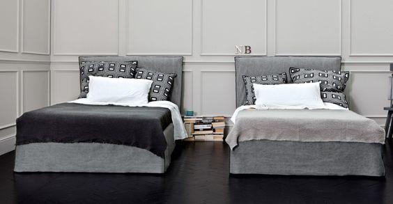 Knock-down bed, multilayer and solid wood frame, adjustable slat - schlafzimmer helsinki malta