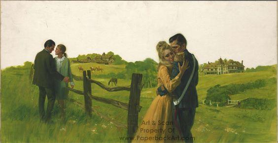 973. Comic Book Art Gallery : Came a Cavalier by Frances Parkinson Keyes - 1968 (Avon W124)