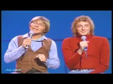 Barry Manilow & John Denver ♥ All I Have To Do Is Dream (LIVE)   HD