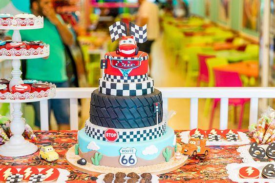 Festa do carros - Relâmpago MCQueen