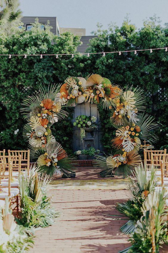 Decorações & Eventos ENZO FERRAZ Cerimonia estilo: tropical