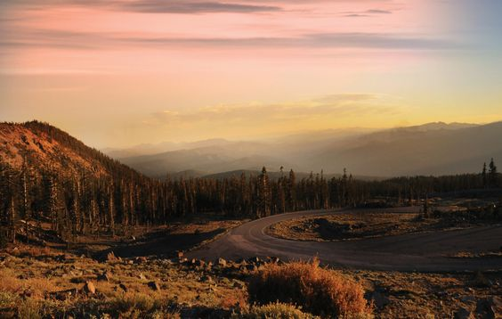 The end of 14 miles of roadway to the timberline of Mount Shasta is a string of memories.