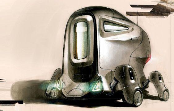 concept robots: Stephen Chu concept robots