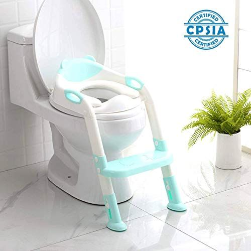711tek Potty Training Seat Toddler Toilet Seat With Step Https Www Amazon Com Dp B07tdb9rlx Ref Cm Sw R Pi Dp Toddler Toilet Seat Potty Chair Potty Seat