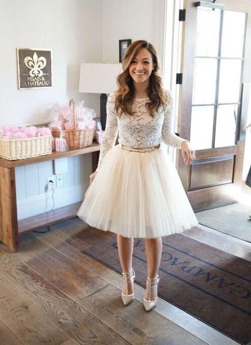 Bridal Shower tulle skirt