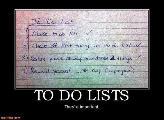 My kind of list