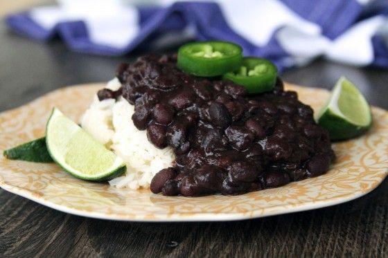 Cuban Black Beans from Scratch {www.mylifeasamrs.com} I can't wait to try this. This girl always has great recipes.