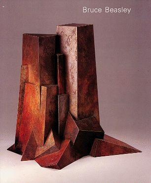 Refuge... cast bronze sculpture by Bruce Beasley