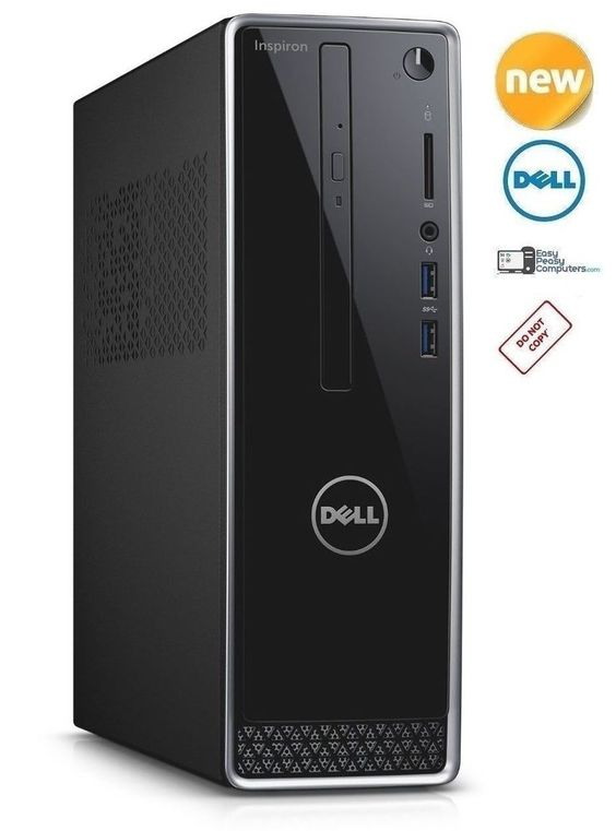 DELL Desktop Computer PC Windows 10 WiFi CD+DVD 500GB 4GB HDMI (FULLY LOADED) #Dell #computer #computers