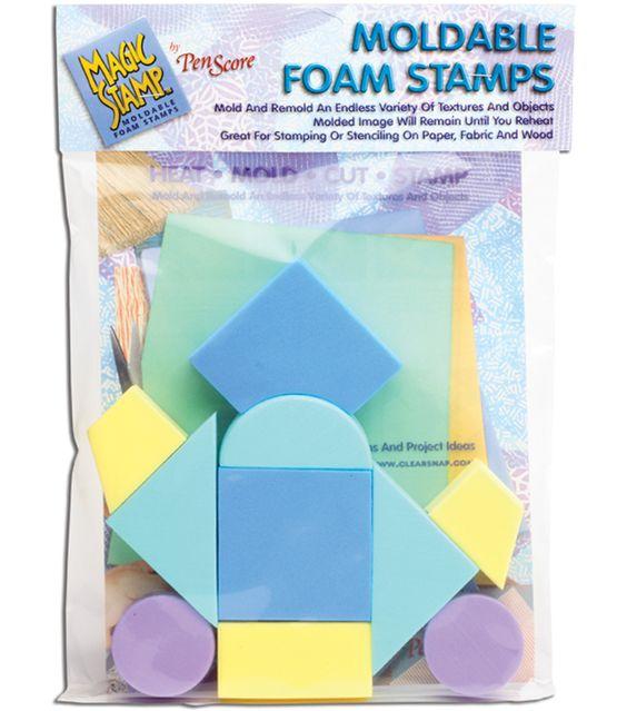 Clearsnap Magic Stamps-10PK/Geometric
