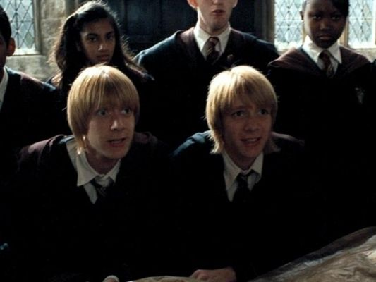 Pin By Jelly On Fred George 3rd Movie Phelps Twins Weasley Twins George Weasley Aesthetic