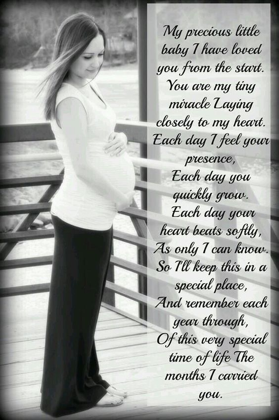 Special words for my unborn son. Can't wait to hold you in my arms.