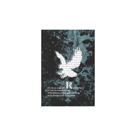 Ravenclaw ❤ liked on Polyvore featuring harry potter and hp