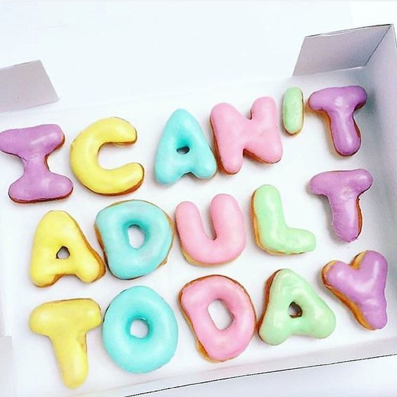 """Haha ever have one of those days? Donuts make it better I think! The struggle is real y'all am I right? Sometimes it's stressful having all the responsibilities of being an entrepreneur not to mention wife mother daughter sister (employee for all my side hustlers)... that it makes you want to say """"I'm out adulting!"""" But fortunately moments like this don't last forever and because you're so passionate about what you are building you find the strength to keep going. And donuts always help too…"""