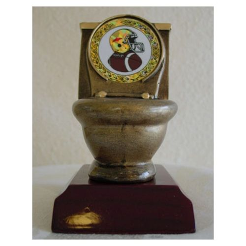 Fantasy Football Toilet Bowl And Football Awards On Pinterest