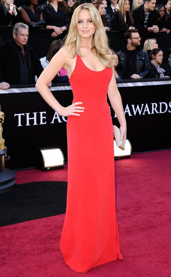 Sleek Chic from Jennifer Lawrence's Best Looks | E! Online