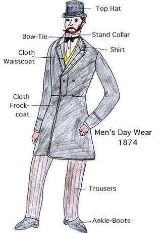 late victorian fashion men - photo #9